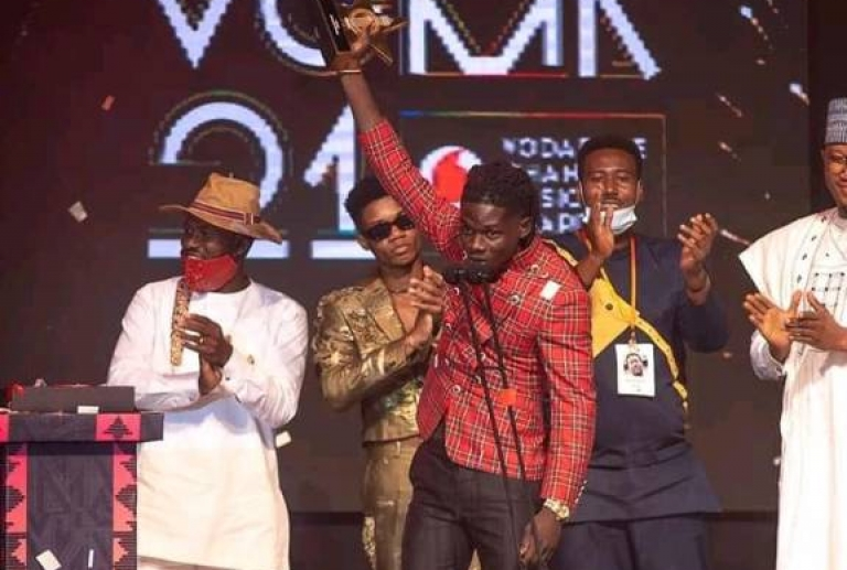 ENTERTAINMENT: VGMA 21 KUAMI EUGENE CROWNED ARTISTE OF THE YEAR