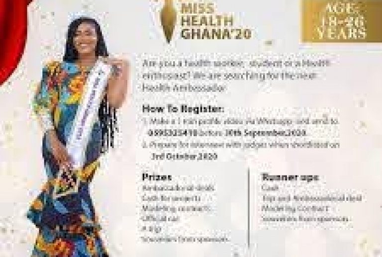 ALL SET FOR 2020 MISS HEALTH GHANA